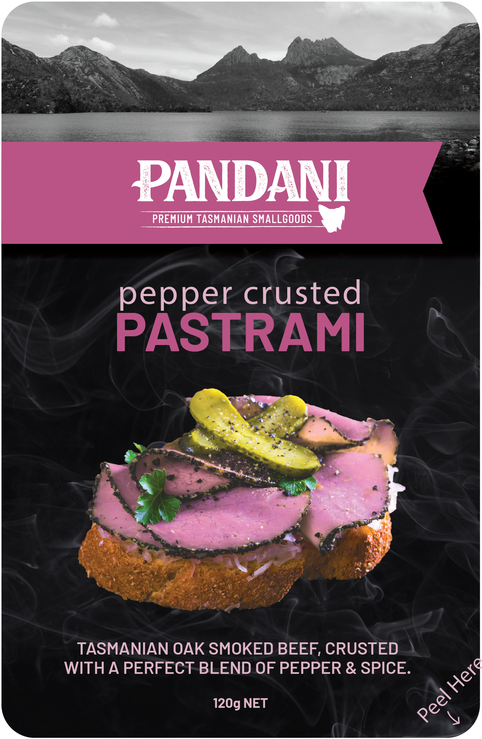 Pepper Crusted Pastrami