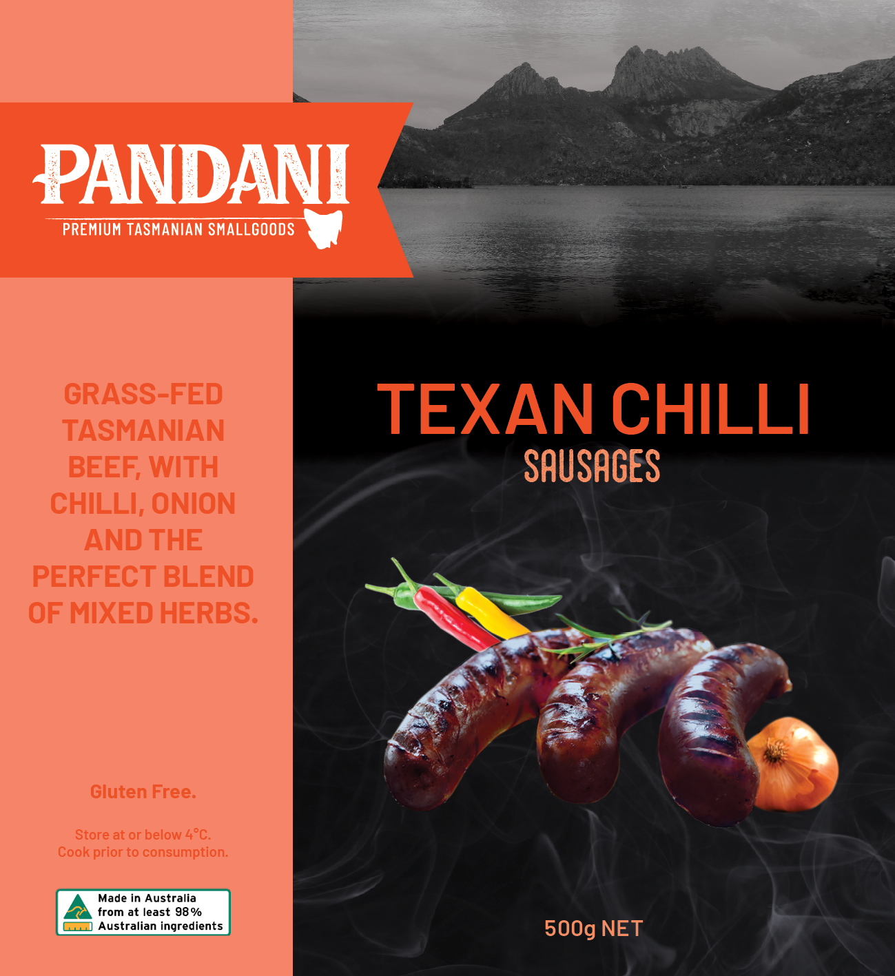 Texan Chilli, Sausages